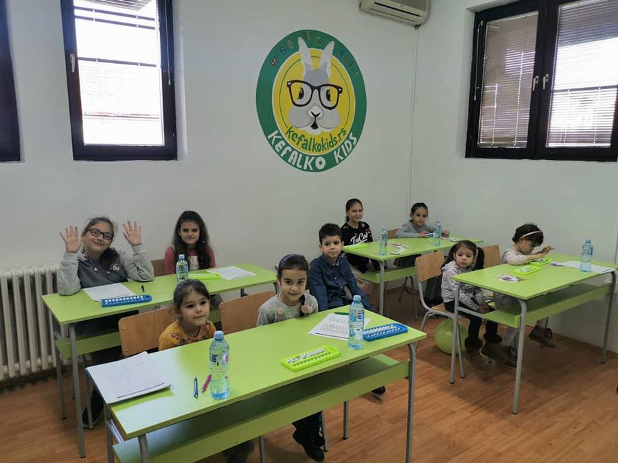 Kefalko Kids - Škola mentalne aritmetike